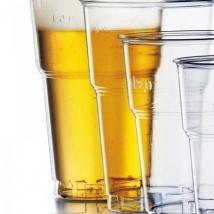 Bicchieri  di plastica