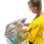 Contenitori rifiuti per palestre